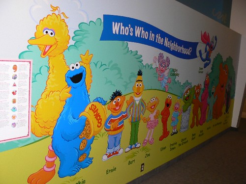 All of the Sesame Street Gang