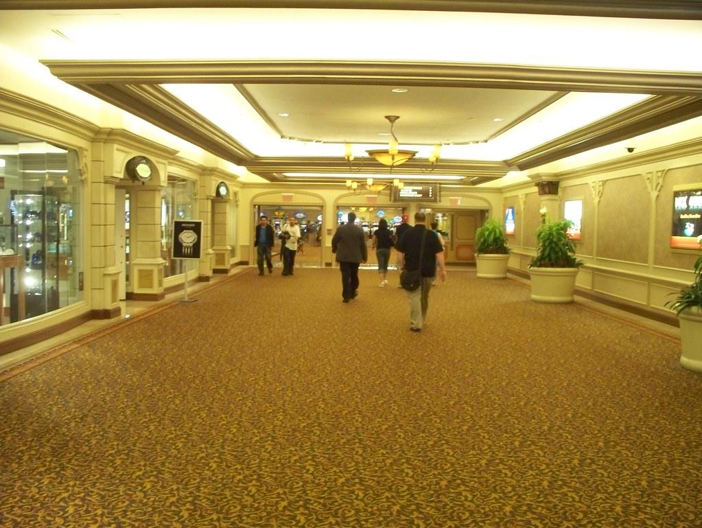 Atlantic City, NJ - entrance to the Claridge Casino Hotel, Boardwalk & Park Place