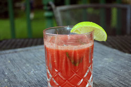 Refreshing Watermelon Cocktail 1