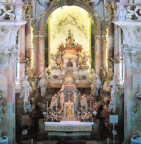 Marienheiligtum Birnau, Altarraum