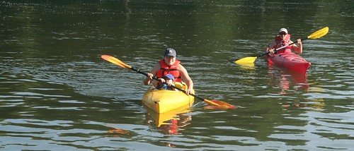 kayaking sauvie island or