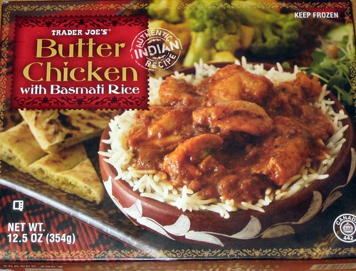 Trader Joe's Butter Chicken with Basmati Rice