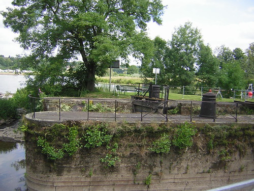 Disused lock on the Ruhr