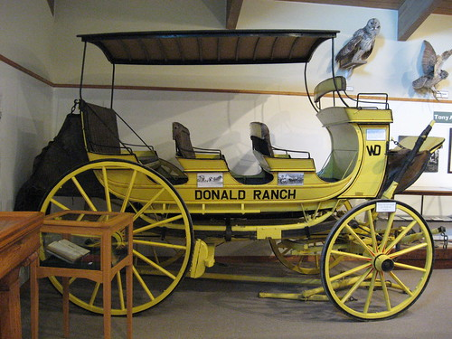 Yellowstone Park Stage Coach