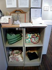 Handmade bags by Blanca Ricardo (avaDarlene) Tags: ny design hamptons gallery recycled handmade craft longisland bags handbags purses riverhead madmoney artsites blancaricardo