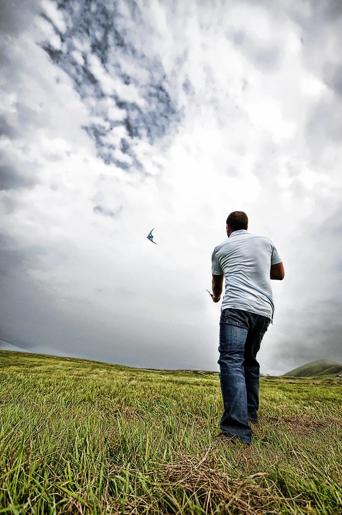 Cerf-volant à l'Ile d'Entrée