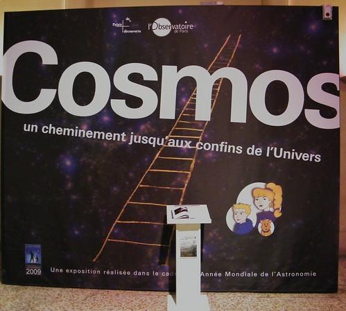 PALAIS DE LA DECOUVERTE / EXPOSITION COSMOS