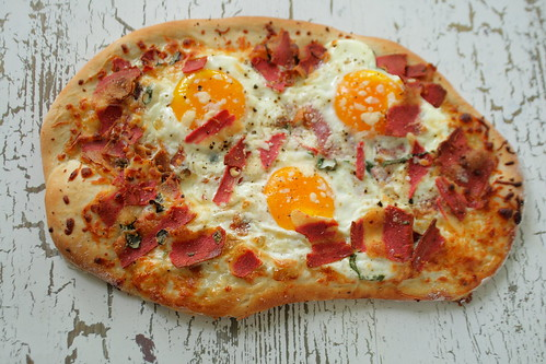 Big Sur Breakfast Pizza