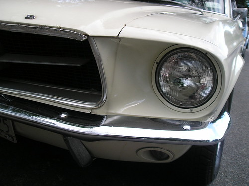 1967 Ford Mustang (detail)