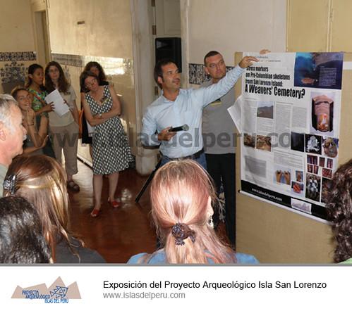 Exposición del Proyecto Arqueológico Isla San Lorenzo