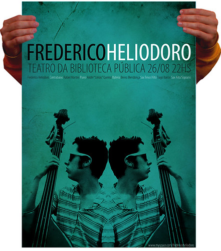 Poster for Frederico Heliodoro (great bass player)