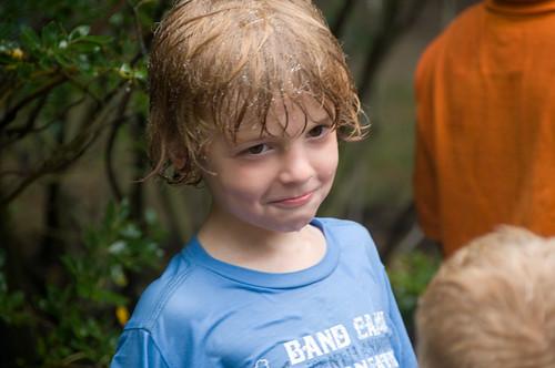 Wet kid