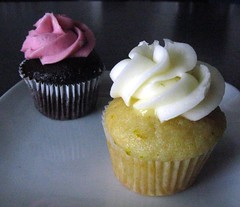 blackberry chocolate & lime cupcakes
