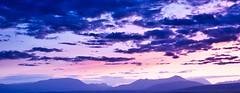 Purple sunset (Pezti) Tags: sunset iceland purple 2009 sumar ísland canoneos1dsmarkii sumarfrí