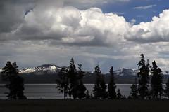 Yellowstone Lake (bhophotos) Tags: travel trees lake storm nature water silhouette landscape geotagged nikon day yellowstonenationalpark yellowstone wyoming d700 2470mmf28g projectweather