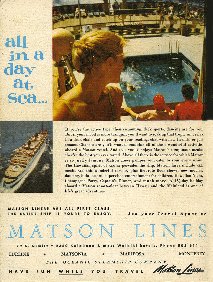 Matson advertisement 1960_tatteredandlost