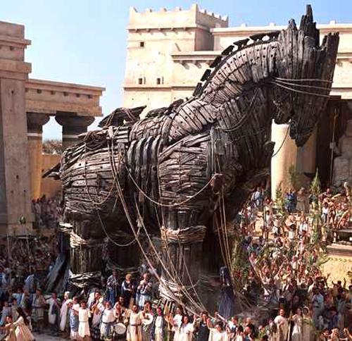 Trojan horse, film still