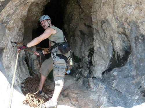 Stand in der (glatten) Höhle