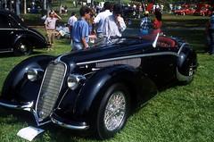 1937 Alfa Romeo 8C 2900B Touring Roadster (dmentd) Tags: classiccar alfa 29 concours alfaromeo touring 1937 roadster concoursdelegance 8c 2car 2900b newportbeachconcours