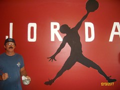 http://www.mikesart.weebly.com (mikechambers2009) Tags: sports basketball michael paintings jordan walls