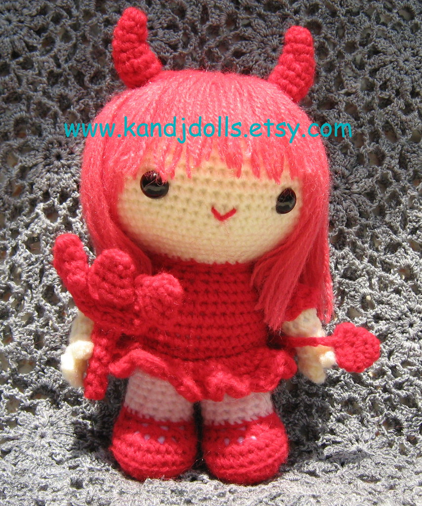 Amigurumi Doll Anleitung : The Worlds Best Photos by K and J Dolls - Flickr Hive Mind