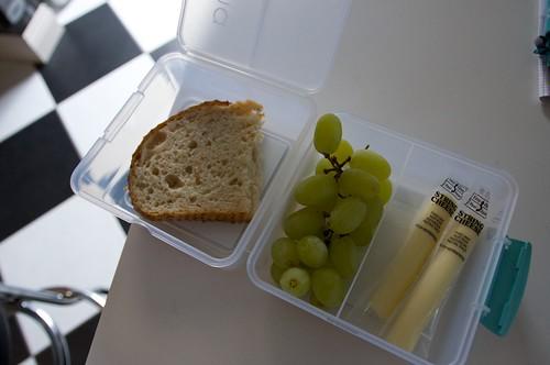 inside lunch cube