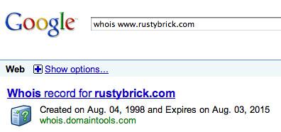 whois google