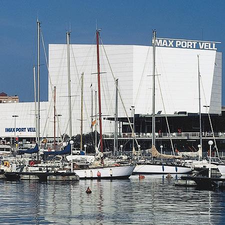 CINE IMAX, PORT VELL BARCELONA