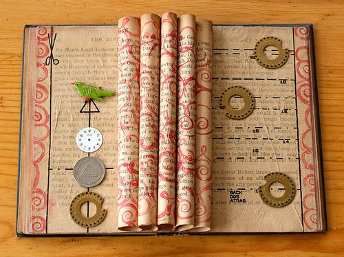 Altered Book: Change the way you tell the story