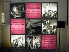 Punk Passage display (GilW) Tags: sanfrancisco punk mabuhay rubyray punkpassage