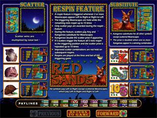 free Red Sands slot mini symbol