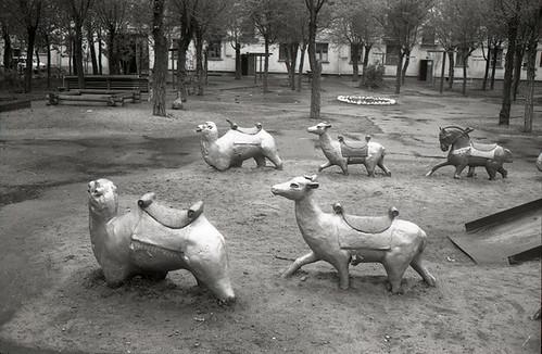 """Детская площадка 1992. Выставка """"Не игрушки!?"""", ГТГ 2009"""