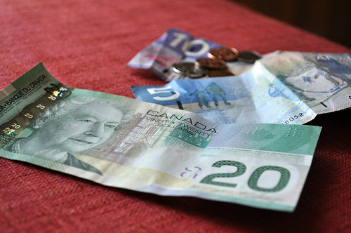 Canadian Money Queen on the 20 Vancouver BC by GoodNCrazy.