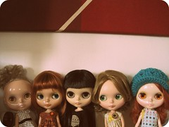 The girls on my craft table