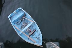 lonely boat at Marmaris - Turkye (JASPER VD GEIN PHOTOGRAPHY) Tags: blue 20d water canon boat blauw cocacola musictomyeyes roeiboot turkeije flickraward flickrdiamond theperfectphotographer