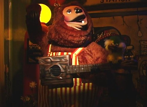 Billy Bob Brockali of the Rock-afire Explosion