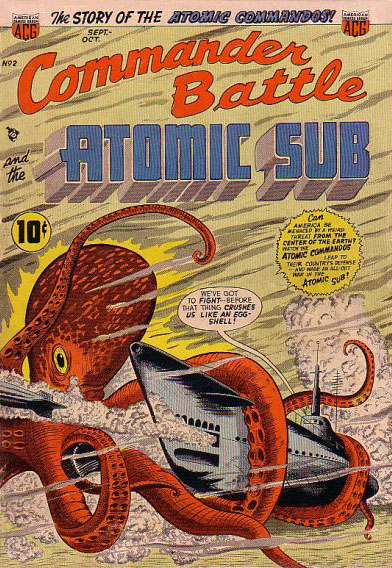 Commander Battle and the Atomic Sub #2 (Sept-Oct 1954)
