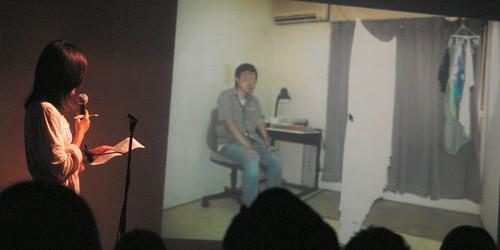 """keiko Nagatomi shows her documetary photos about """"Hikikomori"""""""