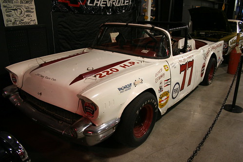 Floyd Garret Muscle Car Museum race car