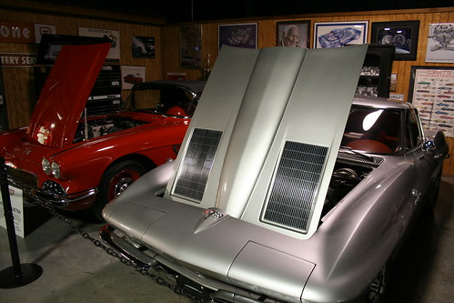 Floyd Garret Muscle Car Museum 63 Corvette