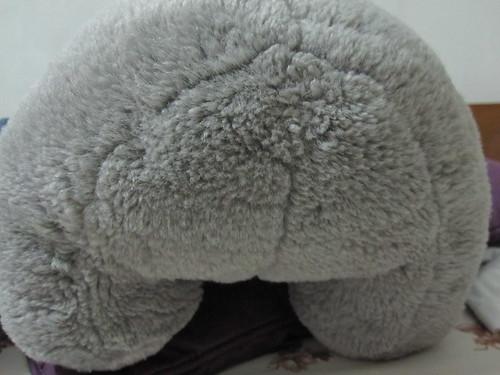 Flora's big butt