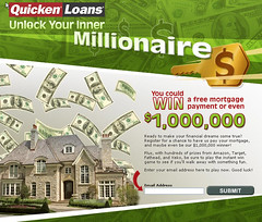 Unlock Your Inner Millionaire sweepstakes from Quicken Loans