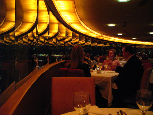 Interno del ristorante The View a New York