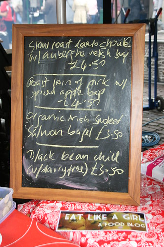Covent Garden Real Food Market Stall