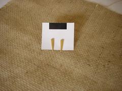 Brinco filete dourado - 115 (Salom Bijoux) Tags: bijoux bijuteria bijou brinco biju brincos bijus acessrios novidade bijouteria bijuterias novidades acessrio atacado varejo