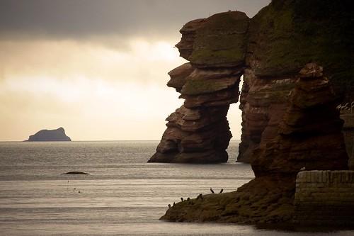 フリー画像| 自然風景| 海岸の風景| 岩山の風景| イギリス風景|       フリー素材|