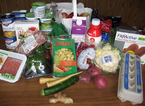 Groceries 10/17