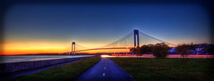 Verrazano (Dj Poe) Tags: bridge sunset me brooklyn canon eos belt dj mark tripod explore ii parkway 5d usm poe hdr 28l verrazano 1635mm