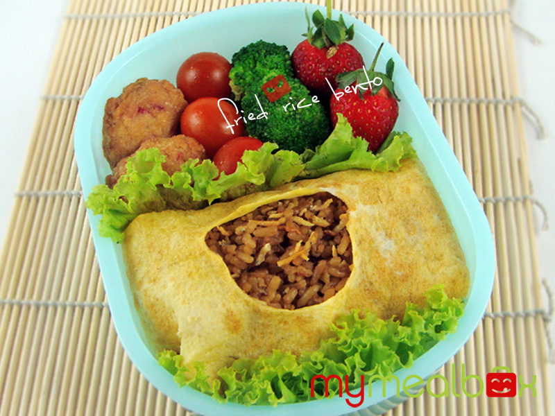 Fried rice bento