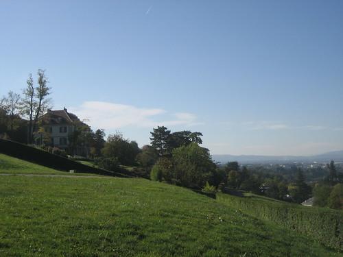 Villa Diodati Overlooking Geneva